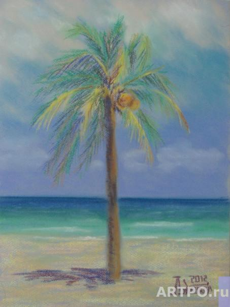 Lukaneva Larissa. Palm Tree