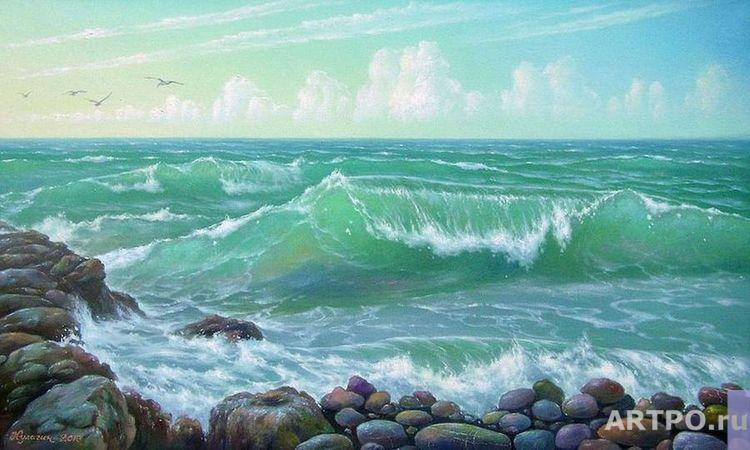 Kulagin Oleg. Sea blues.