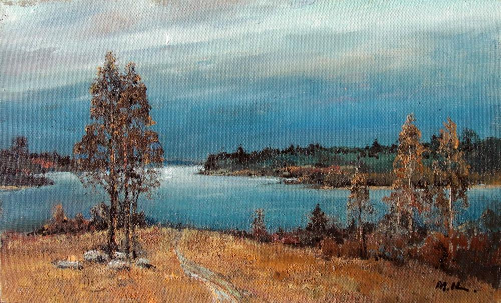 Kremer Mark. After the rain on the lake