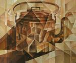 Copper Kettle. Cubo-futurism