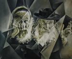 Portrait. Rabbinate. Cubo-futurism