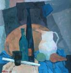 Still life with white jug
