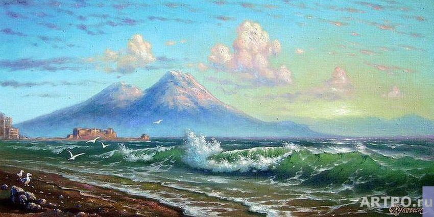 Kulagin Oleg. Morning. The Bay of Naples.