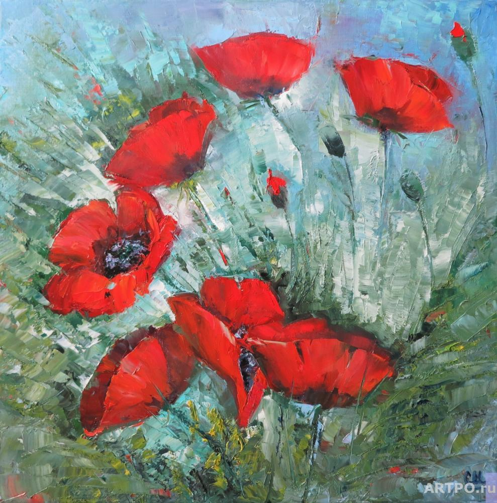 Shamshurina Svetlana. Happy poppies
