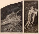 Adam and Eve. Diptych