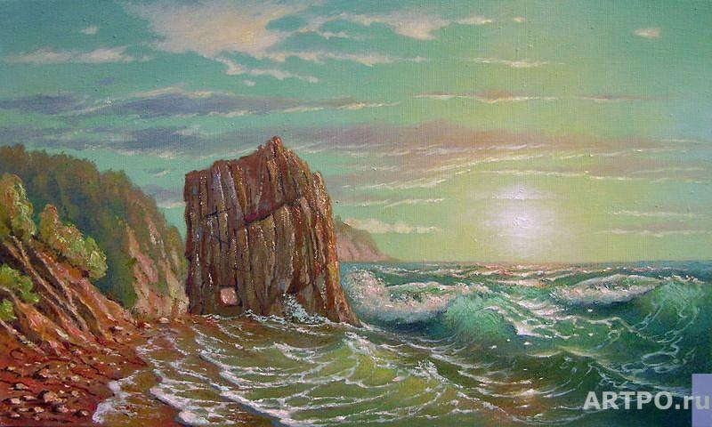 Kulagin Oleg. Sail Rock.