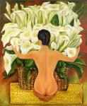 Coppy Diego Rivera The Girl in the Callars