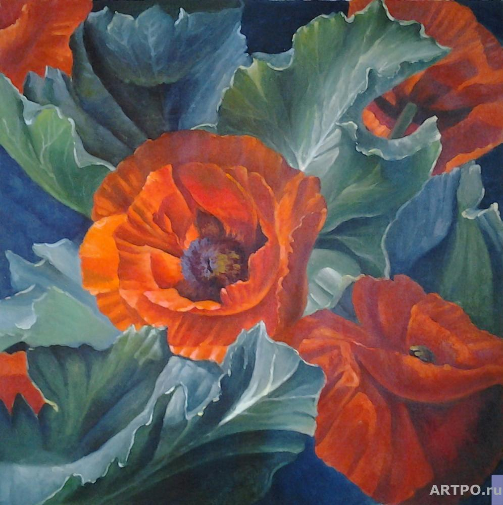 Minaev Sergey. Poppies