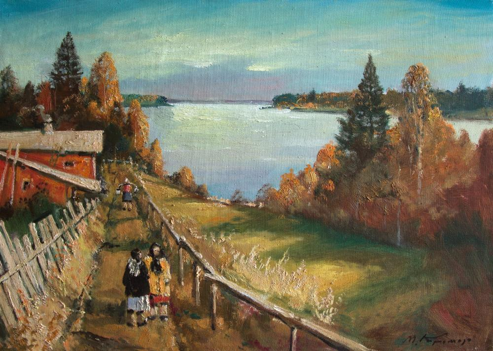 Kremer Mark. Warm autumn on the Lake