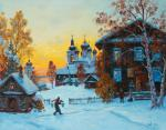 Goritsy. Evening