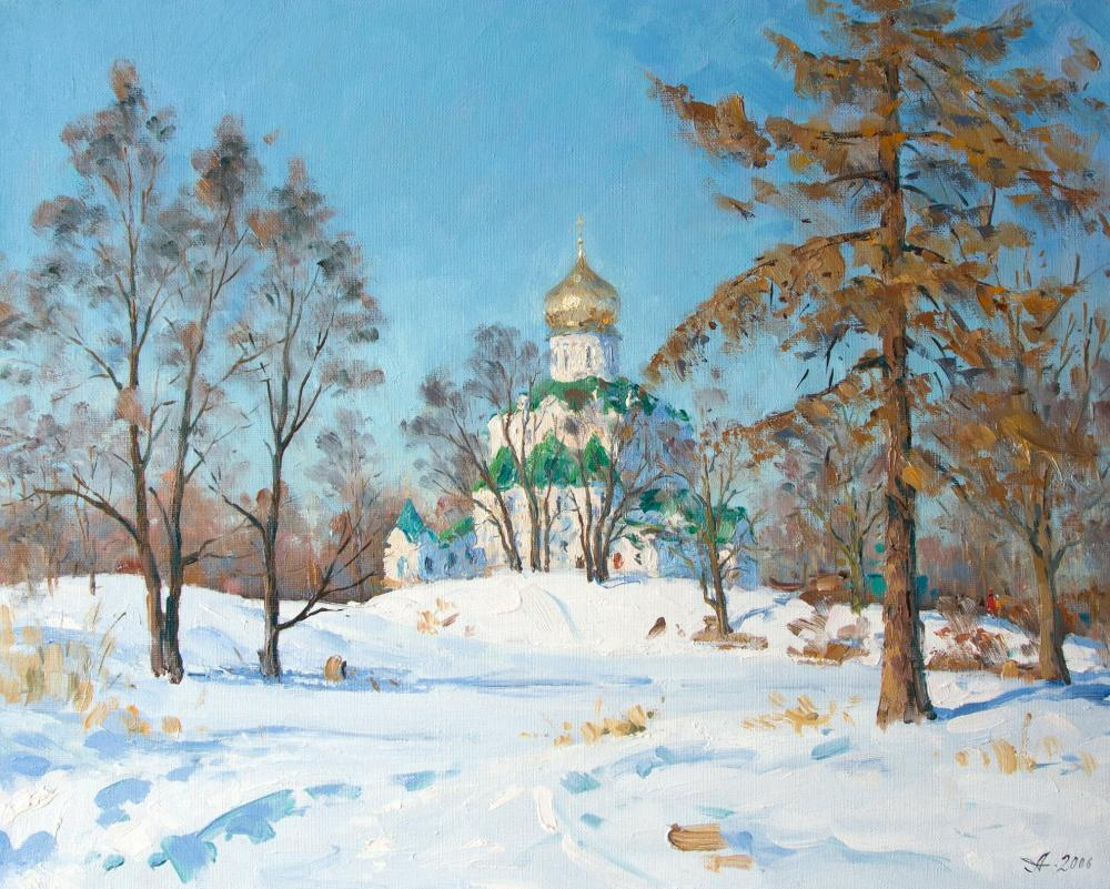 Alexandrovsky Alexander. Theodore Cathedral. Winter