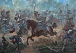 Attack of Sumy hussars. Borodino