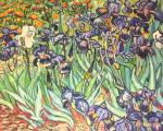 Irises. a copy of Van Gogh
