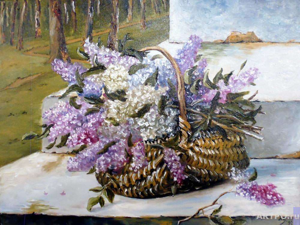 Hodorenko-Zatonskiy Sergej. Lilac in the basket