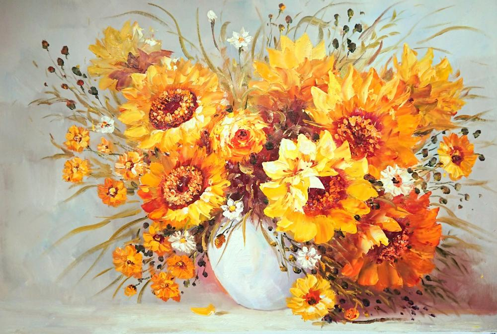 Minaev Sergey. Sunflowers