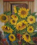 Sunflowers at home