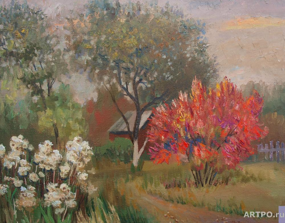 Chernyy Alexandr. Late autumn.Twilight