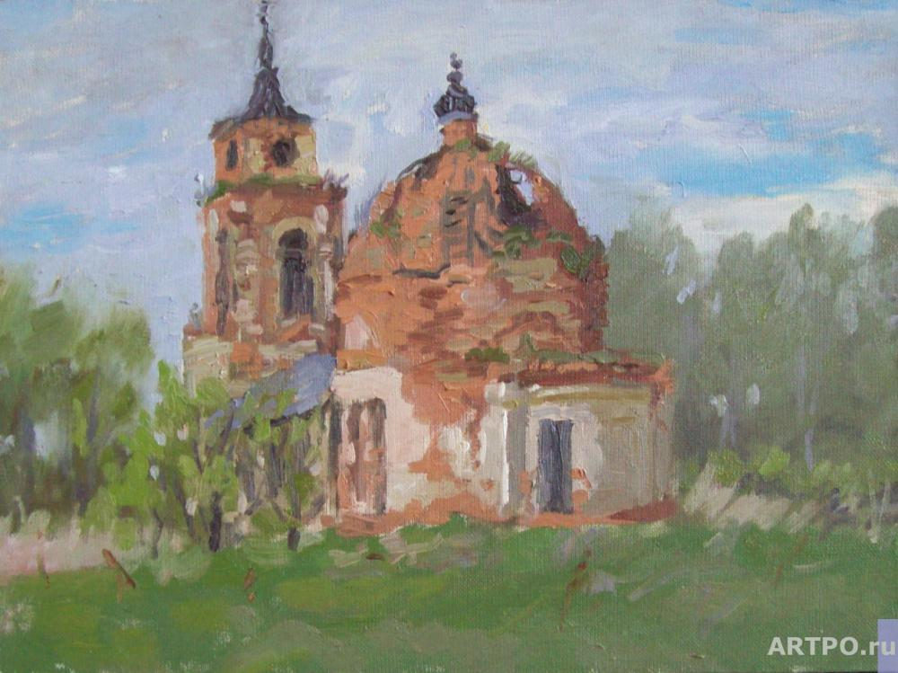 Adamovich Alexey. Old Temple