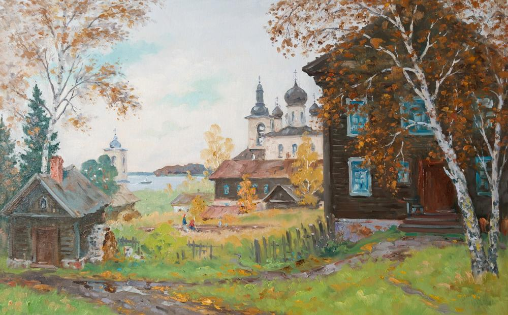 Alexandrovsky Alexander. October in Village