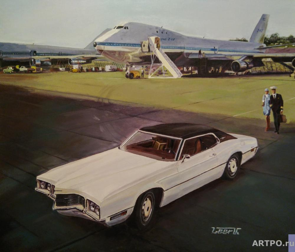 Леер Виталий. Ford Thunderbird 1970