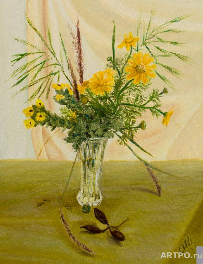 Altshuller Olga. Bouquet of wildflowers