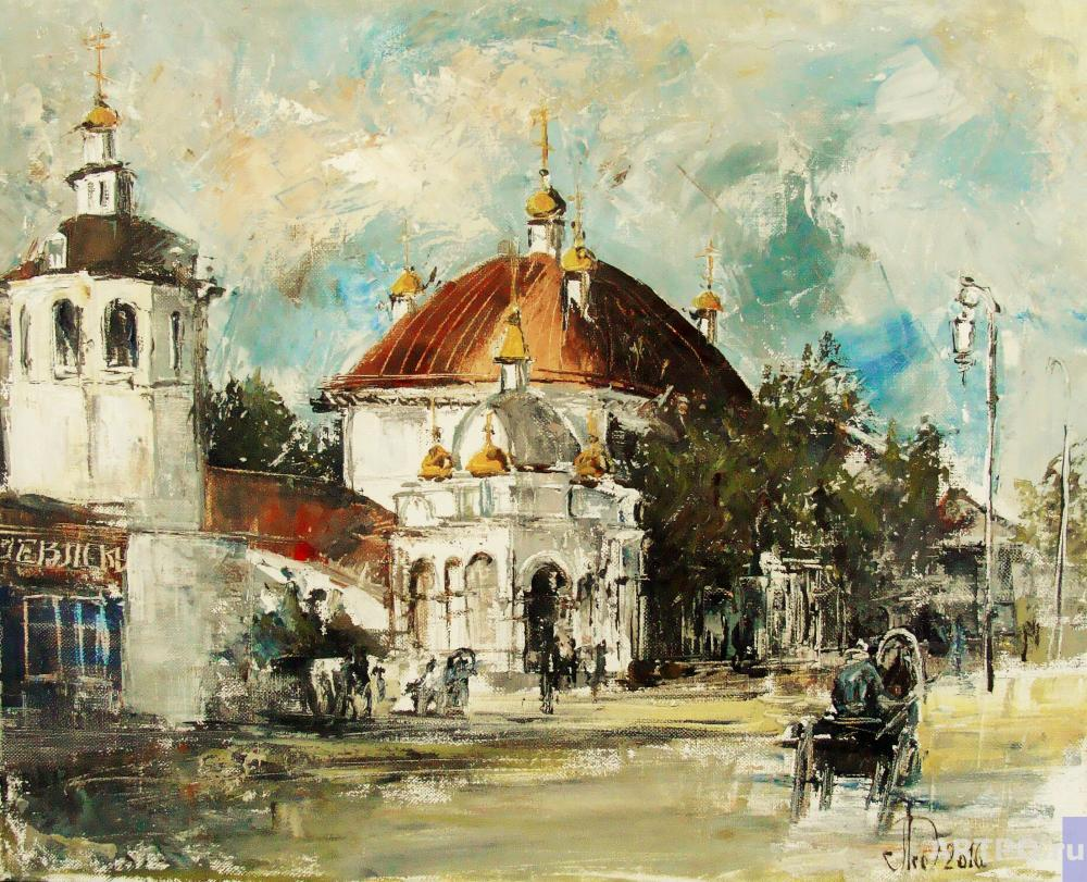 Lednev Alexsander. Church of the assumption of the blessed virgin Mary