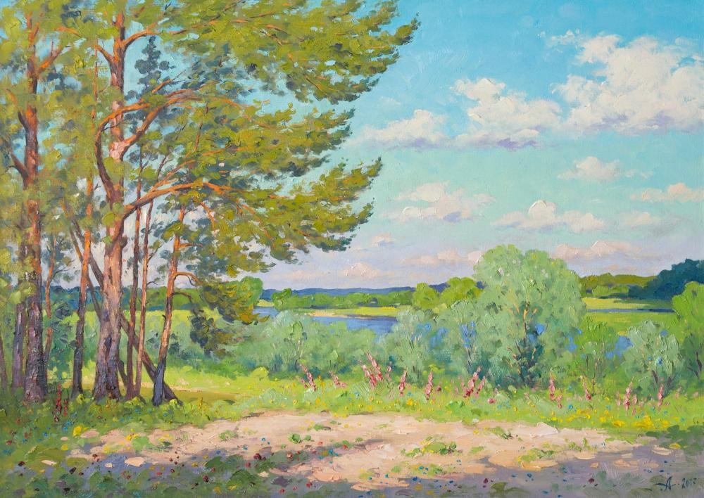 Alexandrovsky Alexander. On the banks of the Dnieper