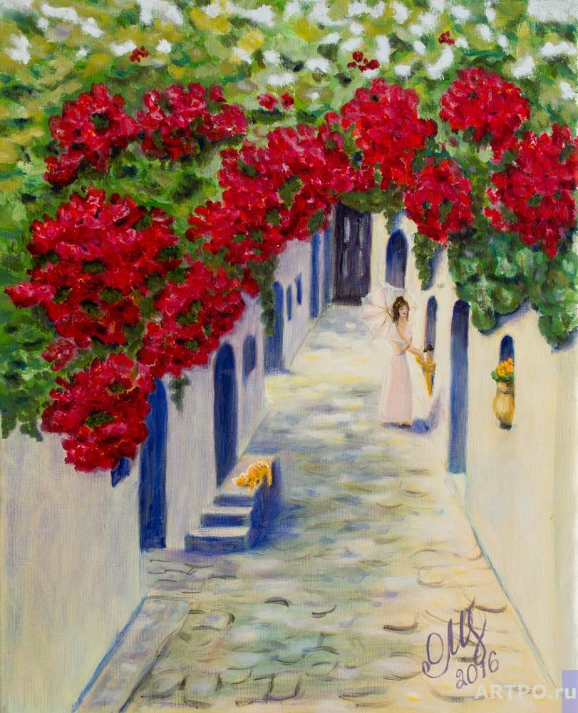 Altshuller Olga. The Greek street