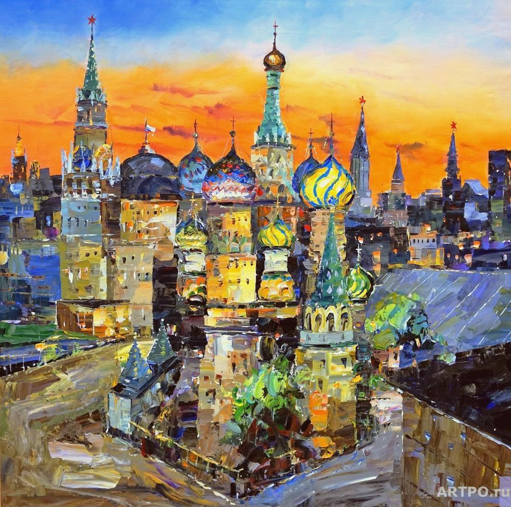 Rodriguez José. St. Basil's Cathedral on red square N 2
