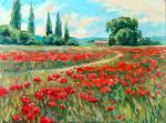 On poppies field