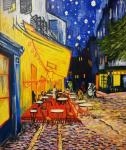 Coppy Vincent Van Gogh Cafe Terrace in Arles at Night