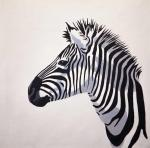 Zebras. Original color N5