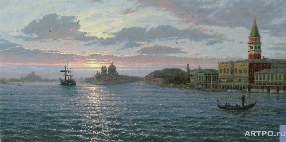 Osipsow Wladislaw. The Early Morning. Venice.