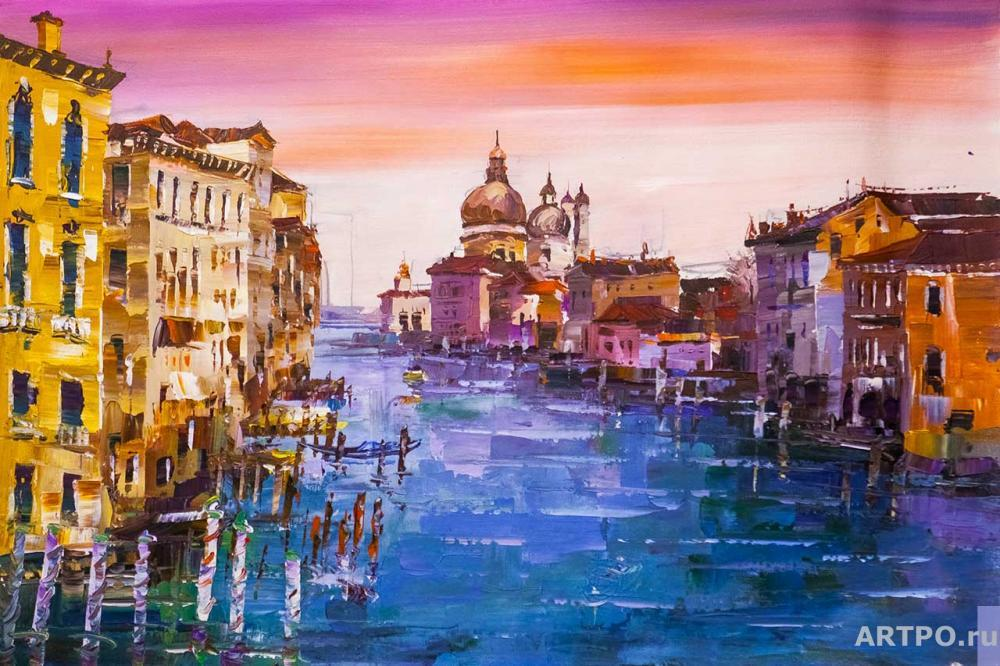 Rodriguez José. Venice. Walk along the Grand Canal