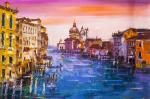 Venice. Walk along the Grand Canal