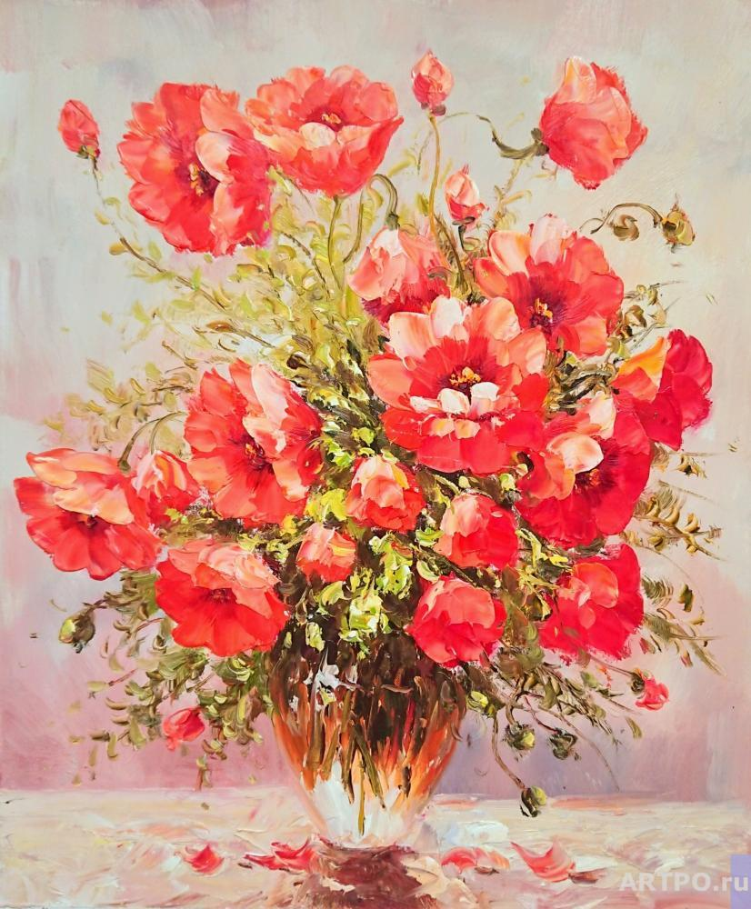 Dzhanilyatti Antonio. Poppies