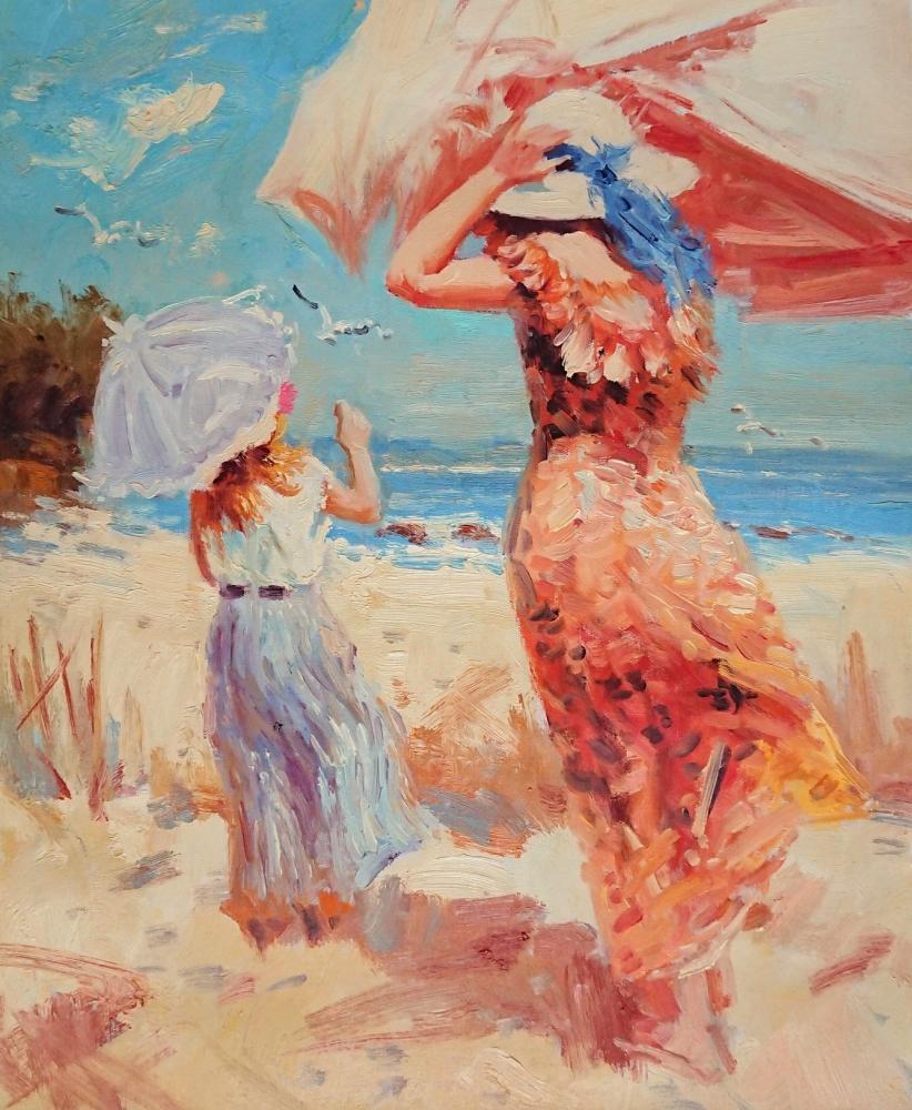 Minaev Sergey. On the beach
