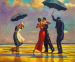 A copy of Jack Vettriano's. The Singing Butler