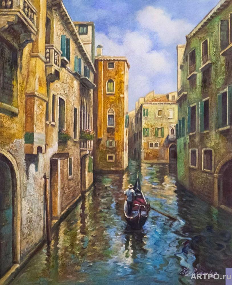 Romm Alexander. Walk through the canals of Venice N1