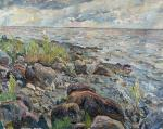 Stones on the Gulf of Finland