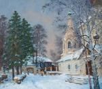 Kostroma, Sloboda in winter