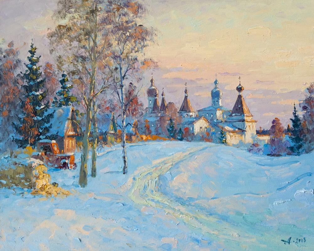Alexandrovsky Alexander. Ferapontovo in the morning