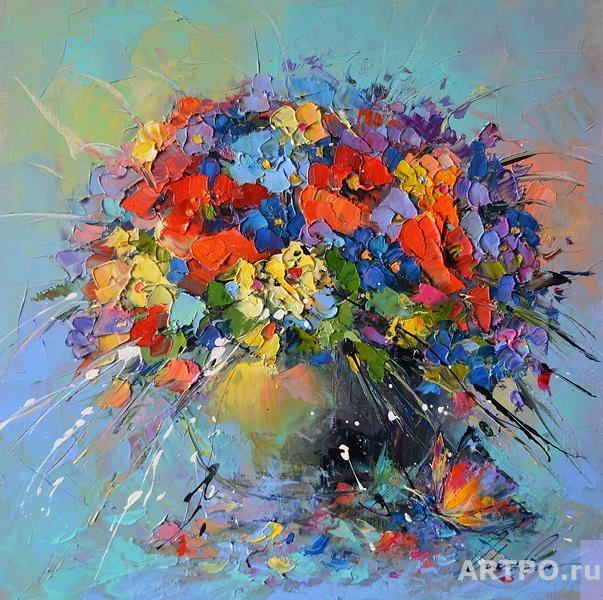 Moiseyeva Liana. Summer bouquet
