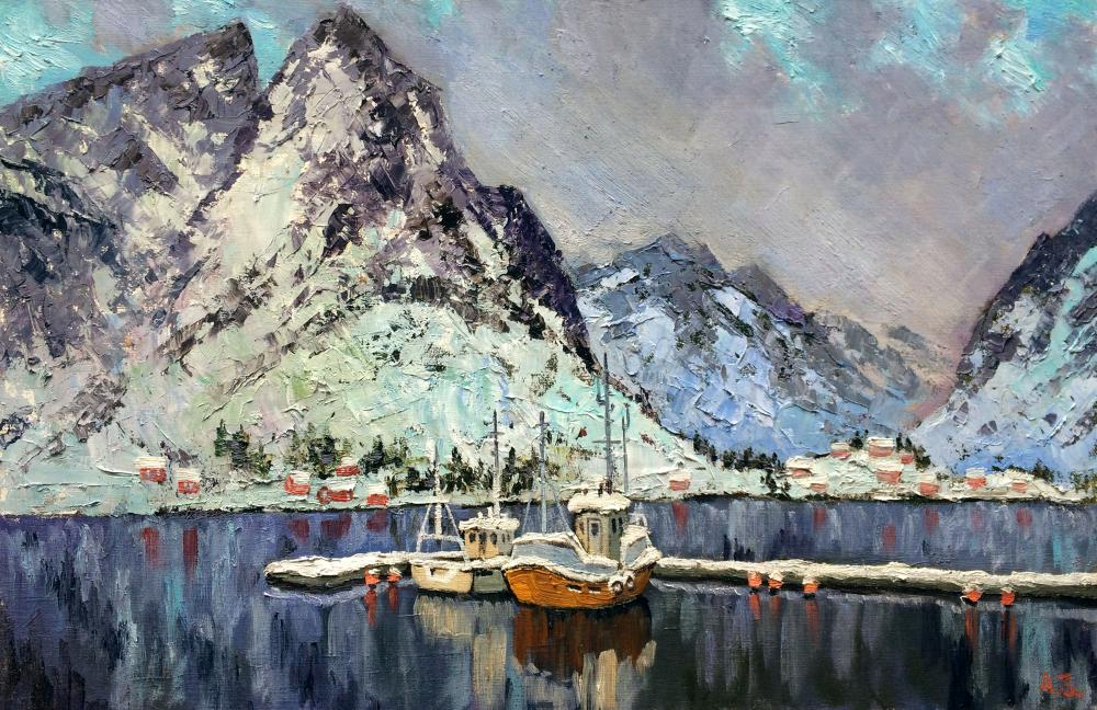Zuev Alexey. On the shores of the Norwegian Sea