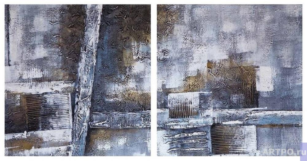 Daniel Wenger. NY Central Park. Diptych