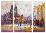 City Sketches N7. Triptych