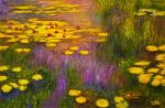 Water Lilies, N 38, copy painting by Claude Monet