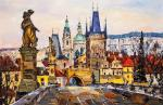 Charles Bridge. Legends of Old Prague