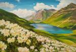 Flowers and mountains, mountains and flowers N5