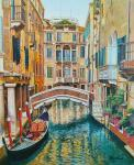 Venetian vacation. A walk along the canals N2
